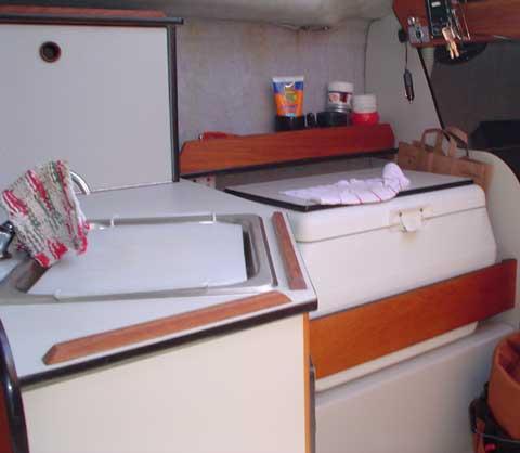Oday 240 sailboat