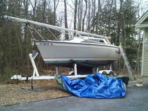 O'Day 240, 1989 sailboat