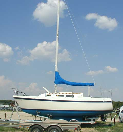 O'Day 25, 1980 sailboat