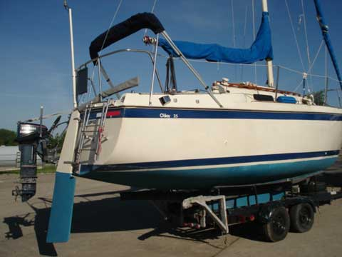 O Day 25 1982 West Des Moines Iowa Sailboat For Sale