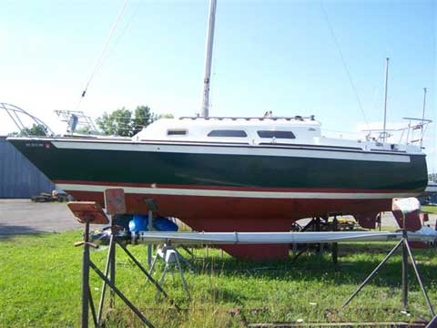 Oday 27 1976 sailboat