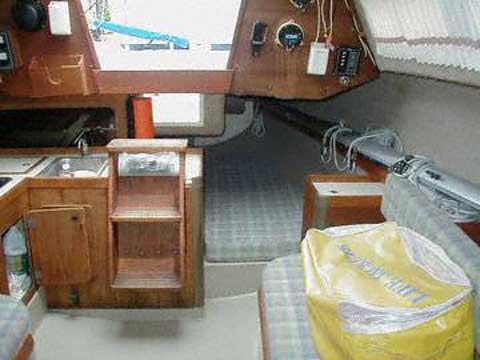 Oday 272 sailboat