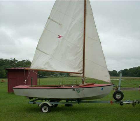 Ole Lind 14 Daysailer sailboat