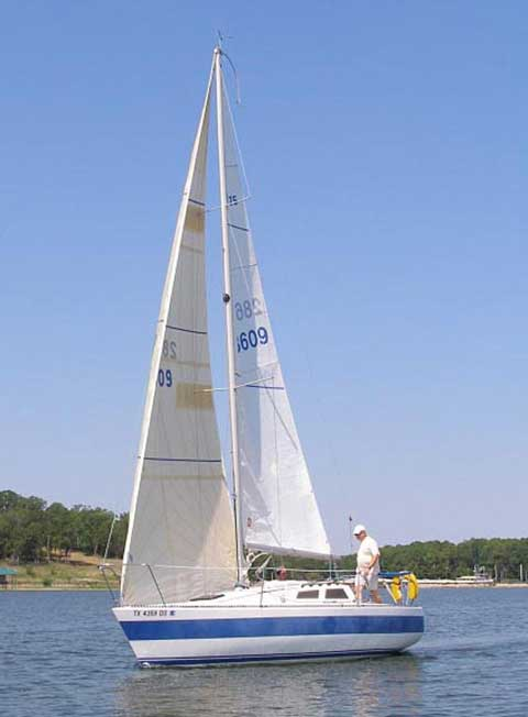 Olson 25 Sailboat For Sale