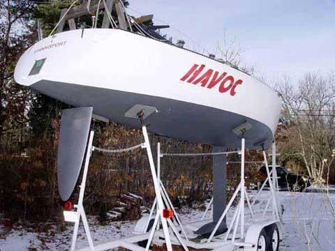Olson 30 sailboat
