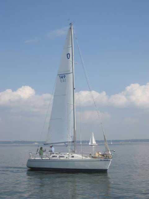 Olson 911S, 30ft sailboat