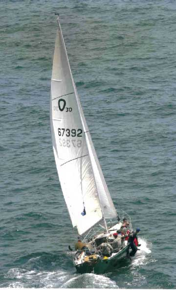 1978 Olson 30 sailboat