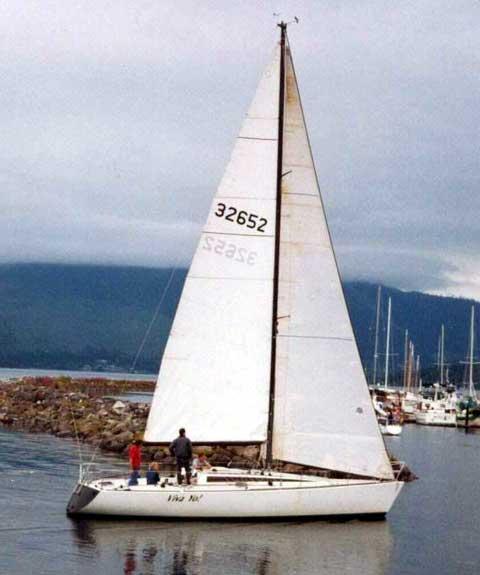 Olson 40 sailboat