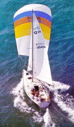 Olson 30 sailboats