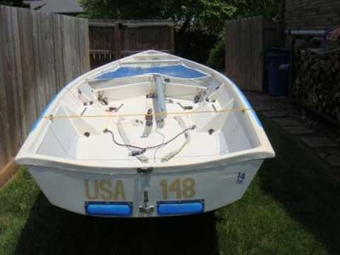 One Design, 14, 1989 sailboat