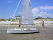 1993 One-Design 14 sailboat