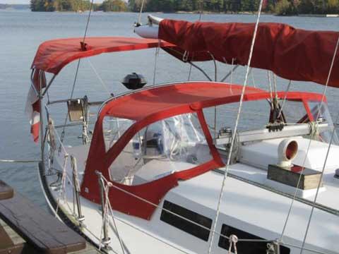 Ontario 32 sailboat