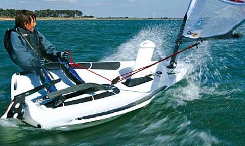 O'pen Bic sailboat