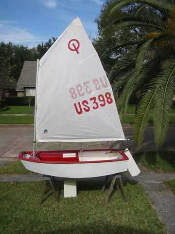 1980 Optimist sailboat