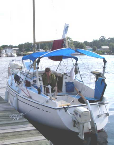 Paceship 23 1974 Port St Joe Florida Sailboat For Sale