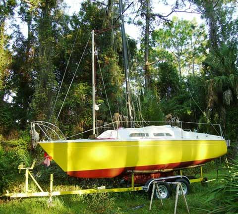Paceship 23, 1975 sailboat