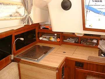 1980 Paceship PY26 sailboat