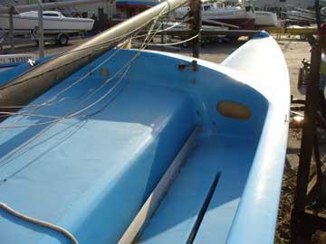 197? Pacific Cat 18 sailboat