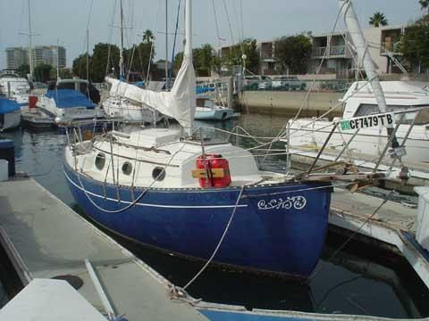 Pacific Seacraft Flicka 20 sailboat