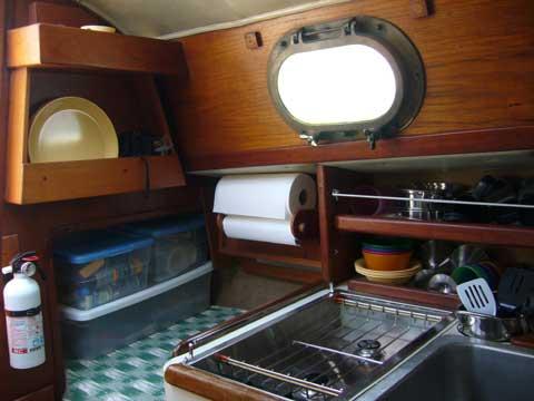 Pacific Seacraft Flicka, 1982 sailboat