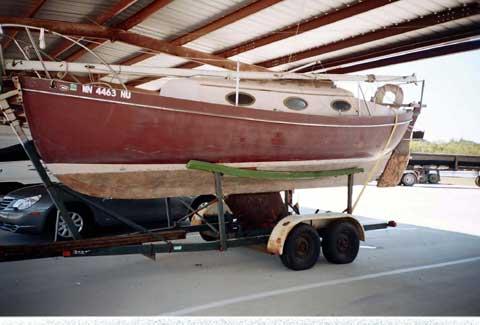 Pacific Seacraft 25 sailboat