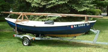 Peapod 14 sailboat