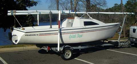 Pearson Triton 18 Sailboat For Sale