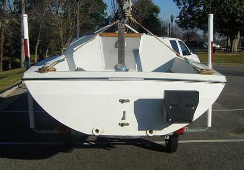 Pearson Triton 18 sailboat