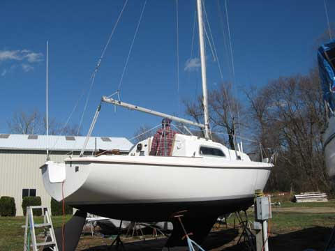 Evinrude 25 Hp >> Pearson 26 sailboat for sale