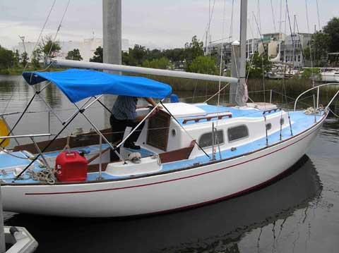 Pearson 27 Renegade, 1968 sailboat