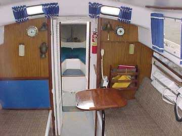 1960 Pearson Triton 28 sailboat