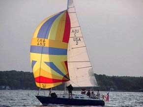 Pearson 31 sailboat