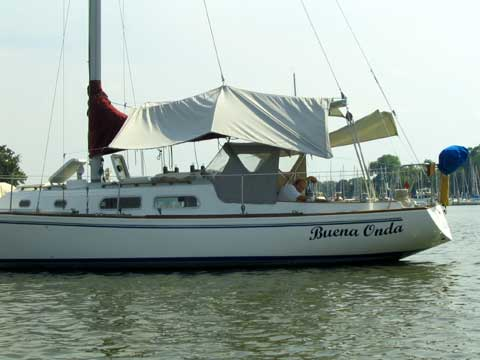Pearson 33 sailboat