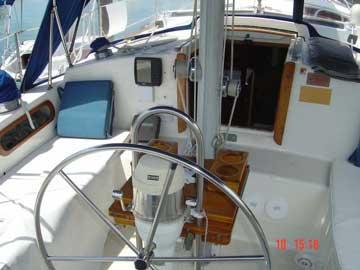 1982 Pearson 424 sailboat