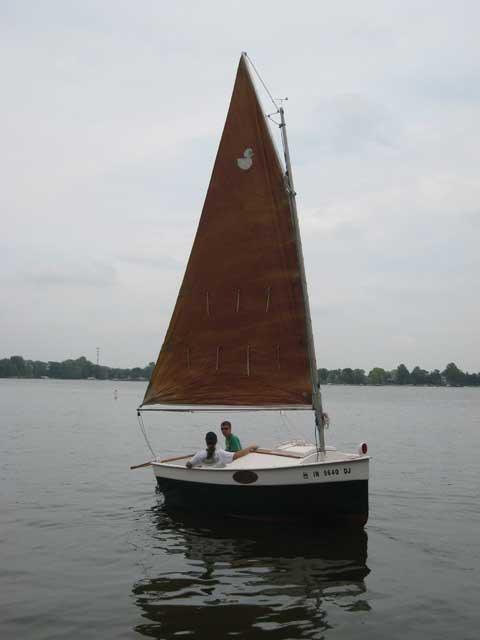 Peep Hen 14, 1989 sailboat