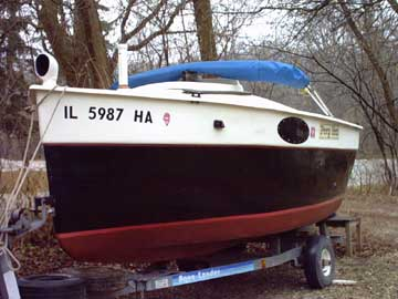 1989 Peep Hen 14 sailboat