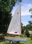 circa 1934 Penguin sailboat