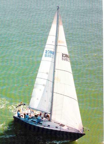 1979 Peterson 34 sailboat