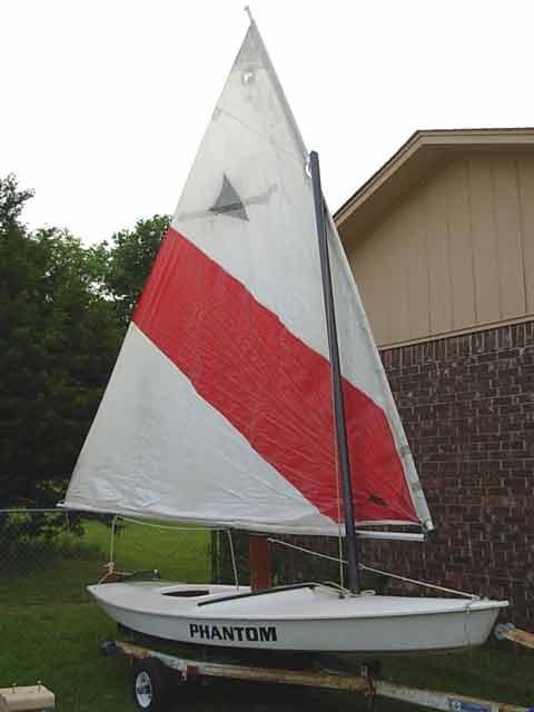 Phantom sailboat
