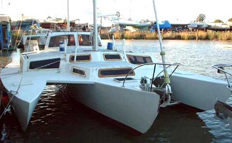 Piver Victress 40 trimaran sailboat