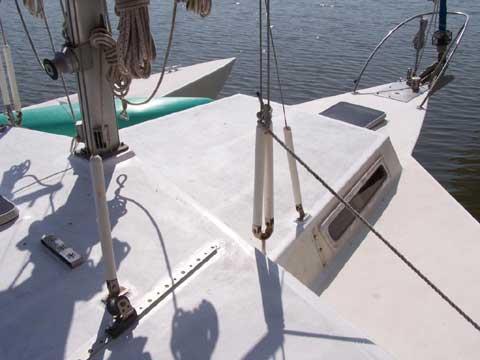 Piver Victress 40 trimaran sailboat