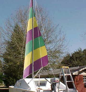 Pocket Cat 18 sail