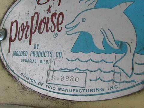 Porpoise sailboat