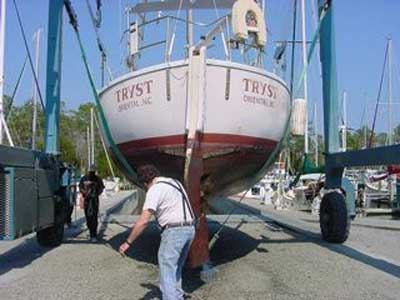 Prairie Cutter 32 ft. Project Boat sailboat