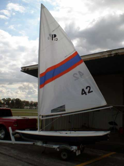 Precision 13 sailboat