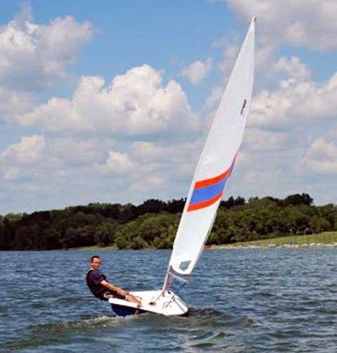 Precision 13 sailboat