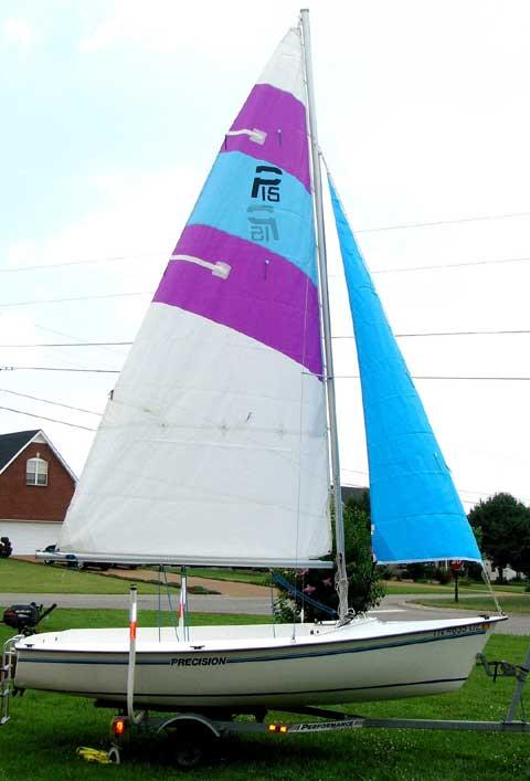 Precision P-15, 2002 sailboat
