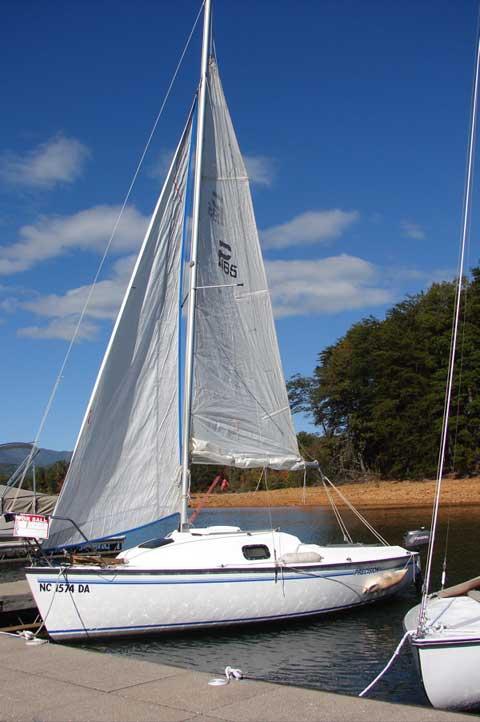 Precision 165 sailboat