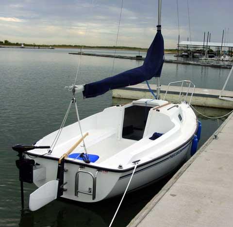 Precision 16.5 sailboat