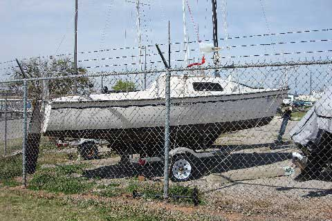 Precision 18 sailboat